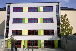 Um- und Erweiterungsbau 41. Grundschule, Hauptmannstraße 15, 01139 Dresden, Hauptgebäude und Sporthalle